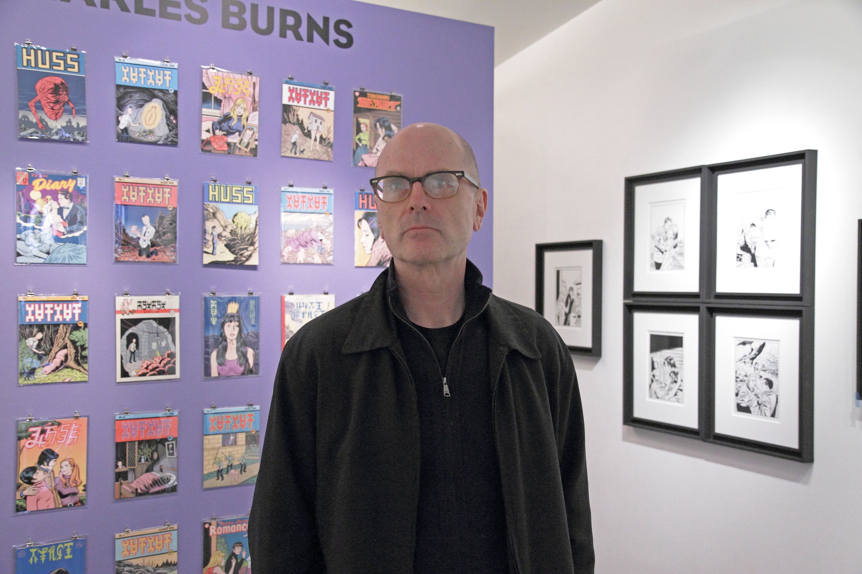 Charles Burns BD expo bande dessinée exposition