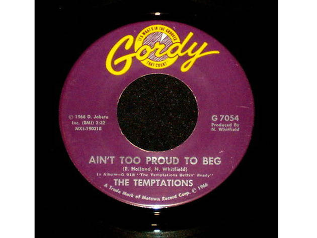 """Ain't Too Proud to Beg,"" The Temptations"