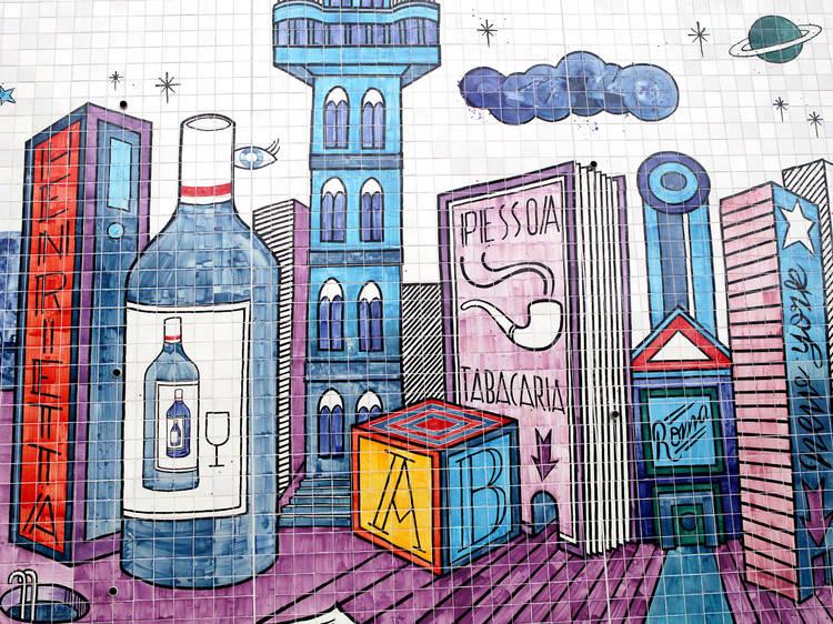 Descubra estas obras de arte ao ar livre em Lisboa