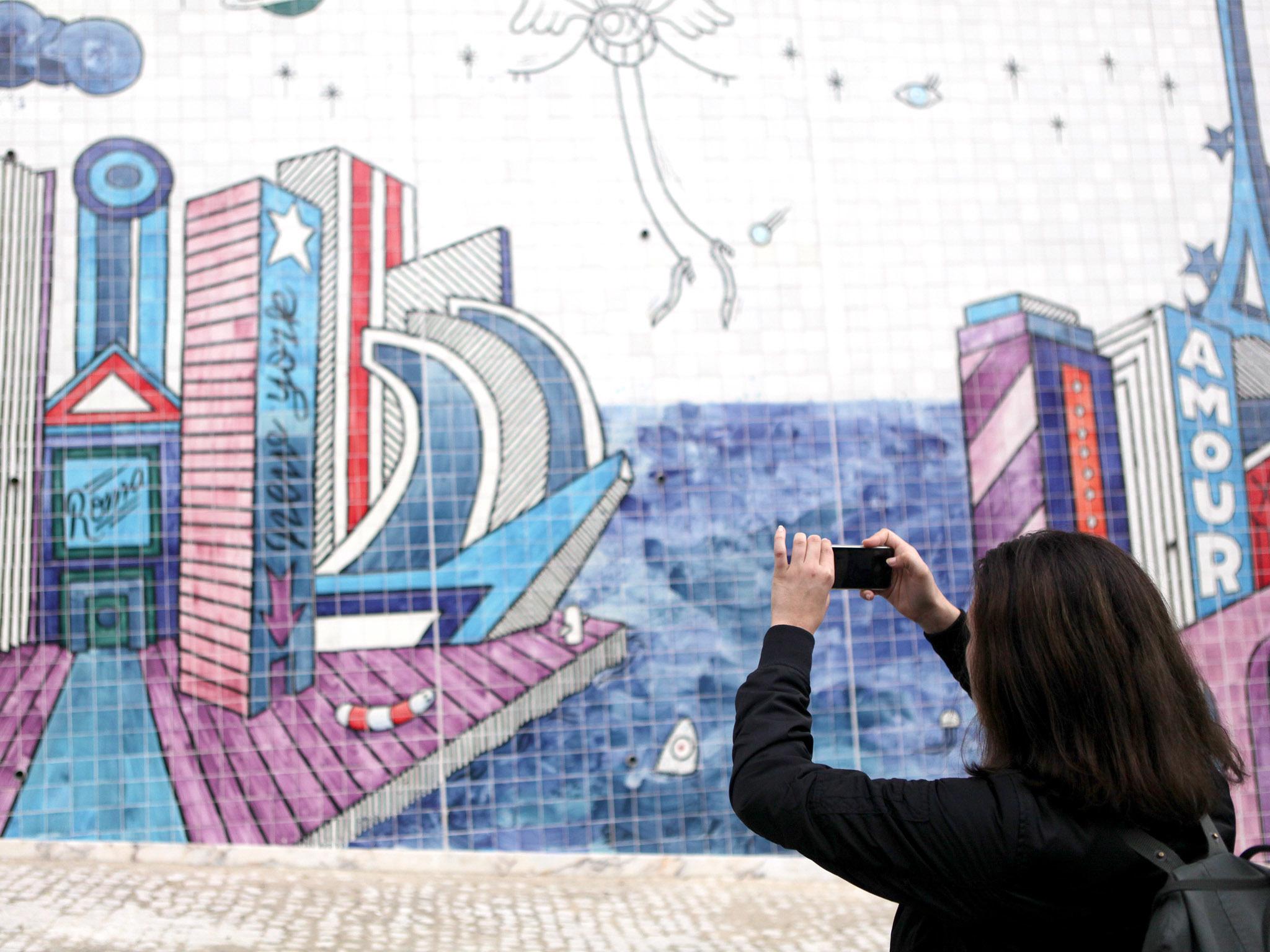 Roteiro de arte grátis em Lisboa