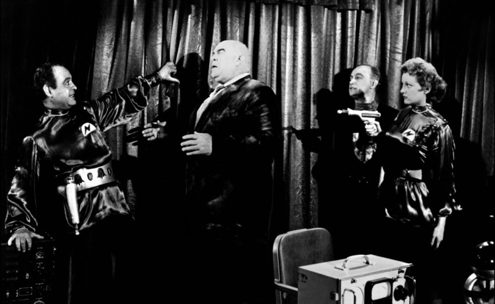 Plan 9 From Outer Space live read