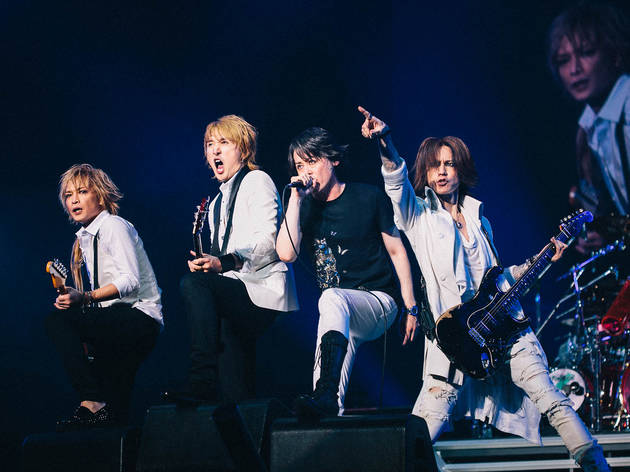 See photos of Yoshiki jamming with Gene Simmons at Japan's giant