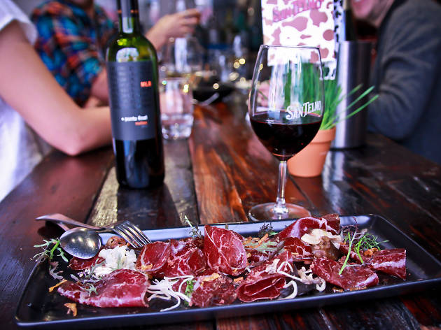 Win a charcuterie and wine tasting for four at San Telmo