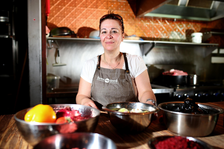 Take a cooking class run by an asylum seeker