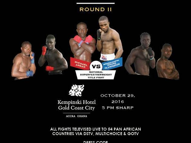 Fight Night at Kempinski