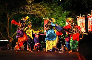 Bhangra dance and drums