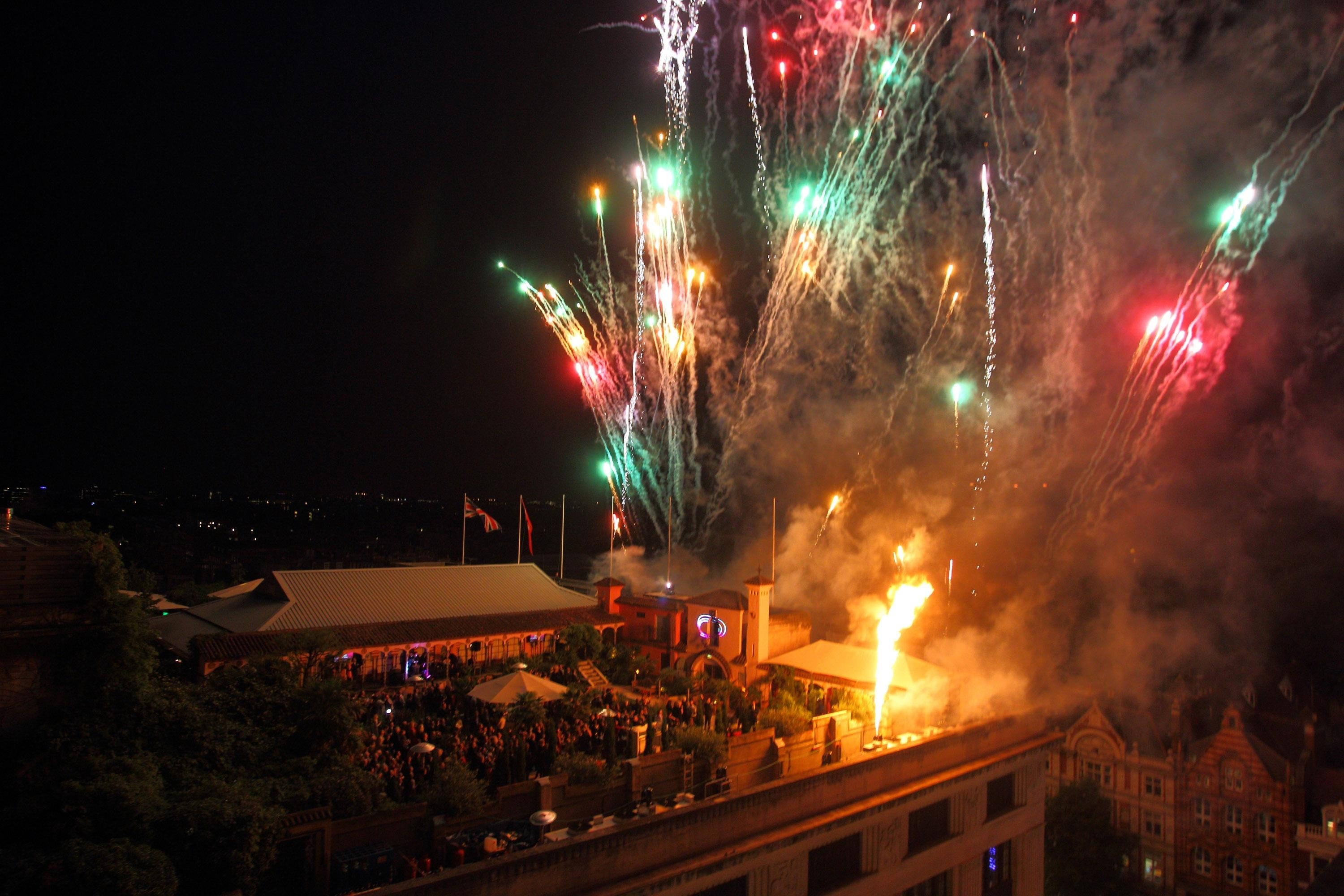 Bonfire Night at The Roof Gardens
