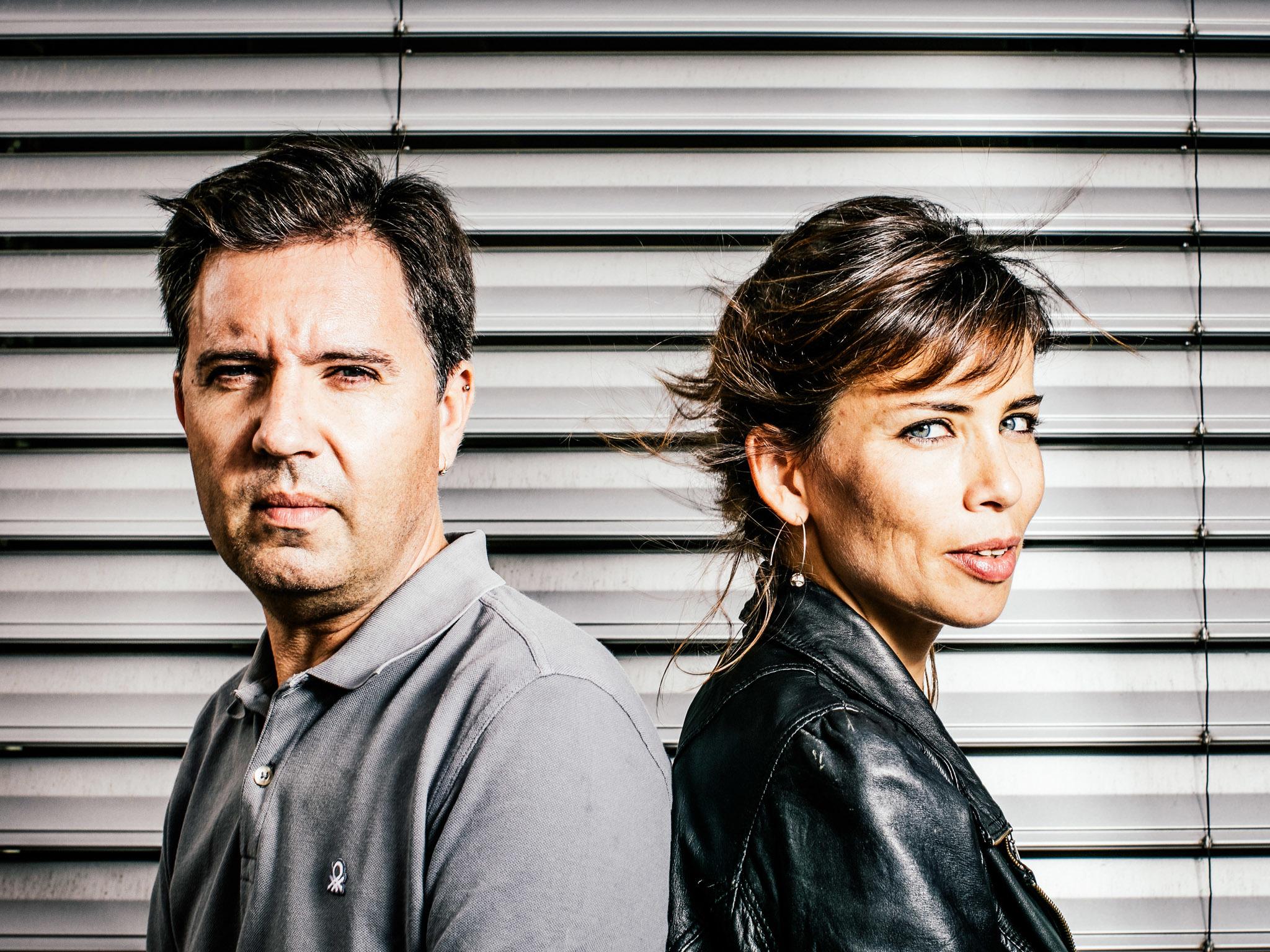 Retrato de Joana Stichini e Pedro Fernandes