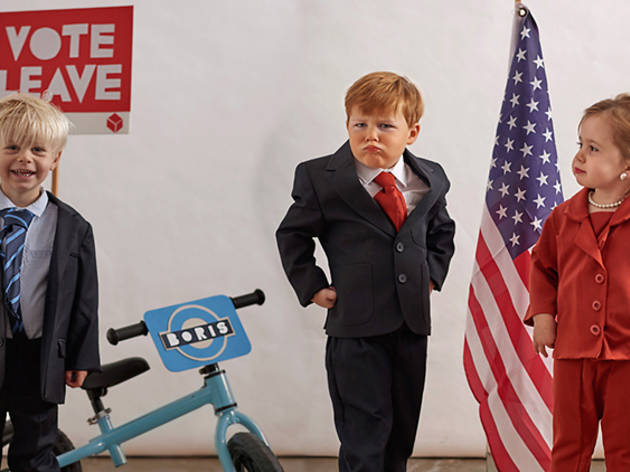 Donald Trump, Boris Johnson, Boaty McBoatface and other alternative kids' Halloween costumes