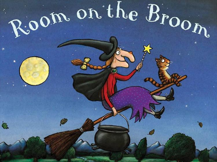 Julia Donaldson (Room on the Broom)