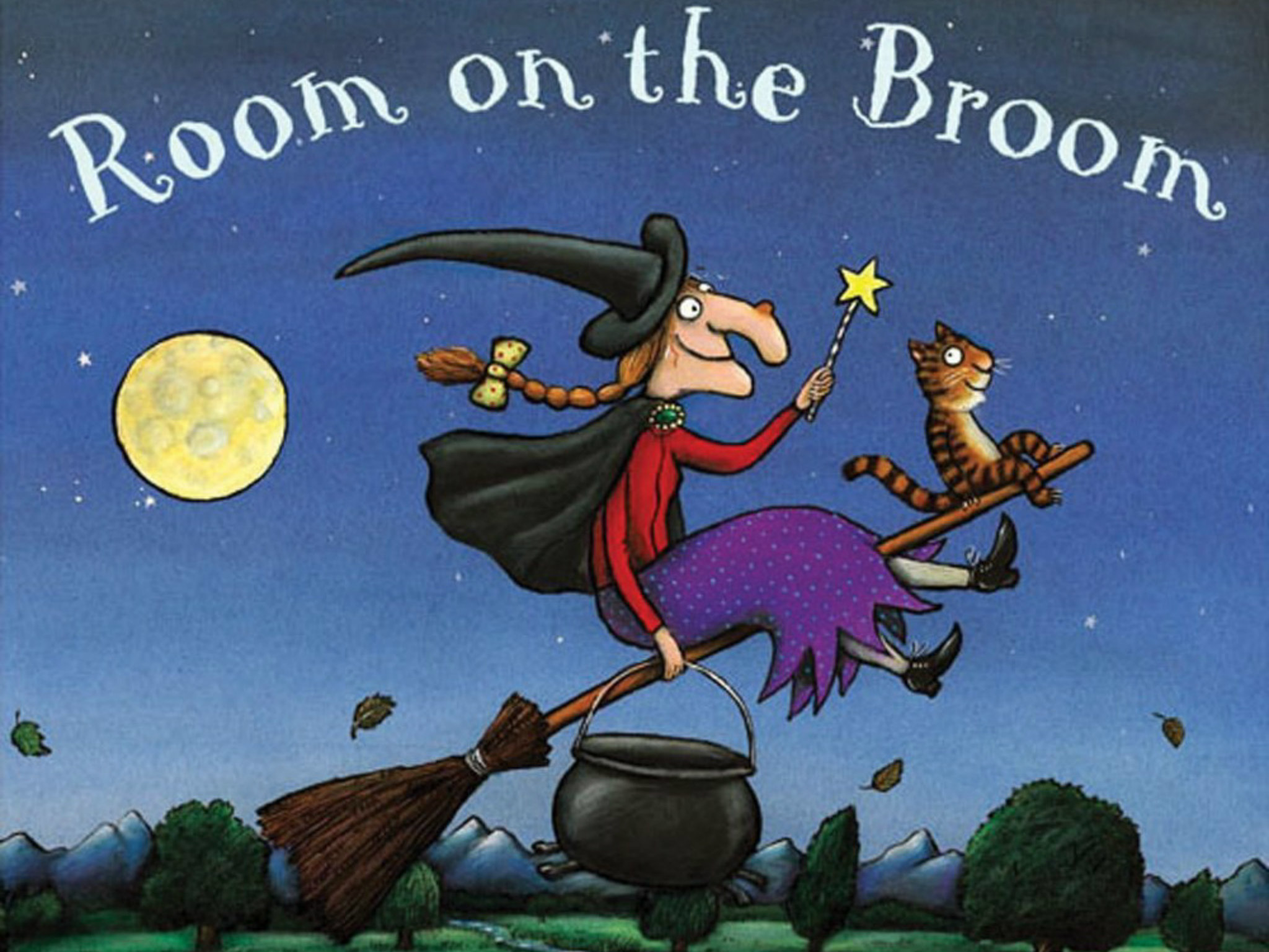 Room on the broom en Queenie Loves Books