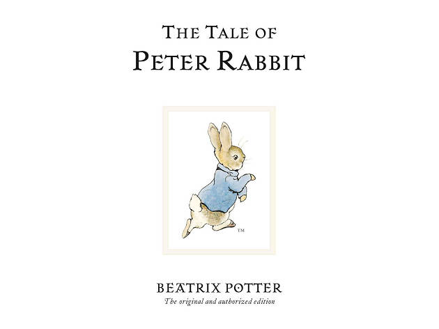 The Tale of Peter Rabbit en Queenie Loves Books