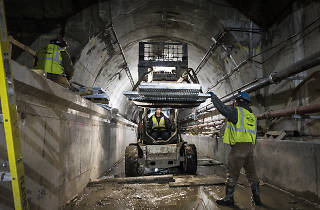 The new Second Ave subway tunnels were the wrong size