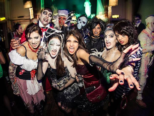 Halloween Party at Forbidden City