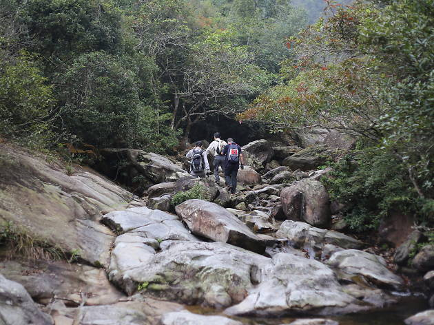 Go with the flow: Canyoning and stream trekking at Ping Nam Stream