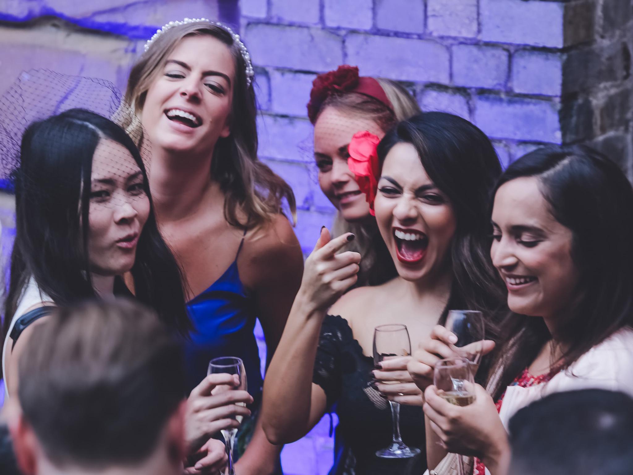 UPG ladies celebrating Melbourne Cup
