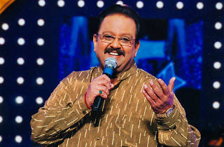SPB performs in Sri Lanka