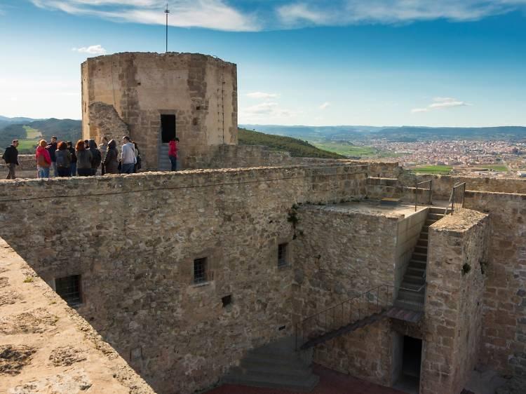 Tarda dia 1: el Castell de Claramunt