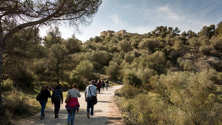 Passeig al Castell de Claramunt
