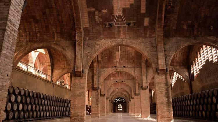 Caves Codorniu Modernisme Puig i Cadafalch
