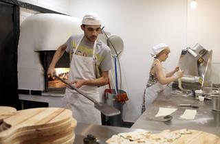 Pizzeiros no In boca lupo