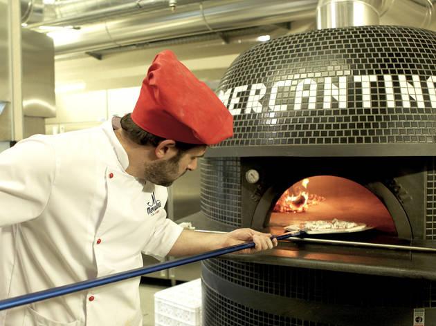 Pizzeiro na Mercantina