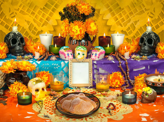 Ofrenda de Día de Muertos 25 unmissable things to do in mexico city 25 Unmissable Things To Do In Mexico City image