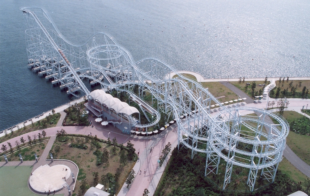 You can now ride Japan's most famous roller coasters online