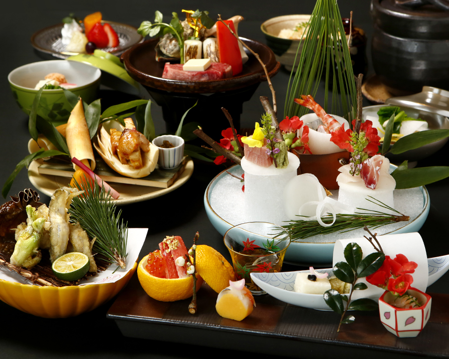 Try traditional kaiseki…