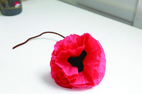Make your own Poppy Flower