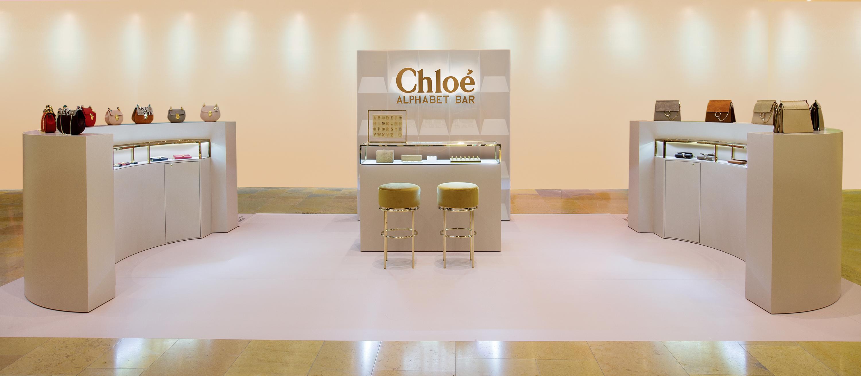 Chloe Alphabet Bar Pop Up Store Shopping In Hong Kong