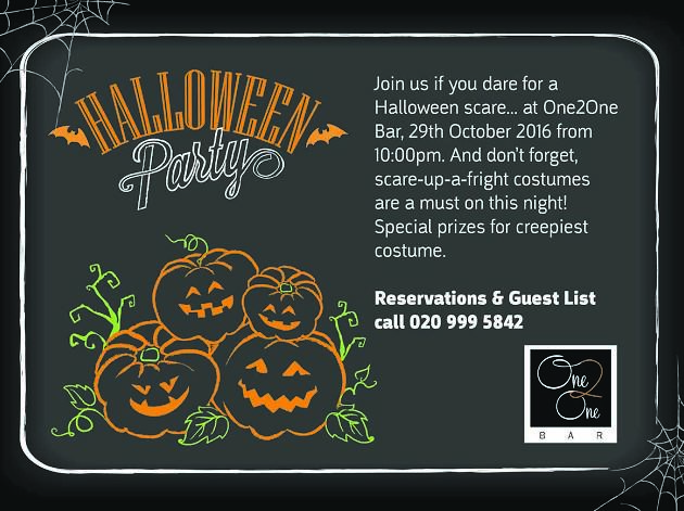 Halloween Party at Movenpick