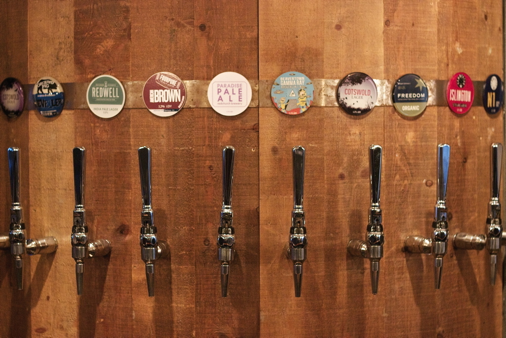 the best craft beer bars and pubs in london, duke's head highgate