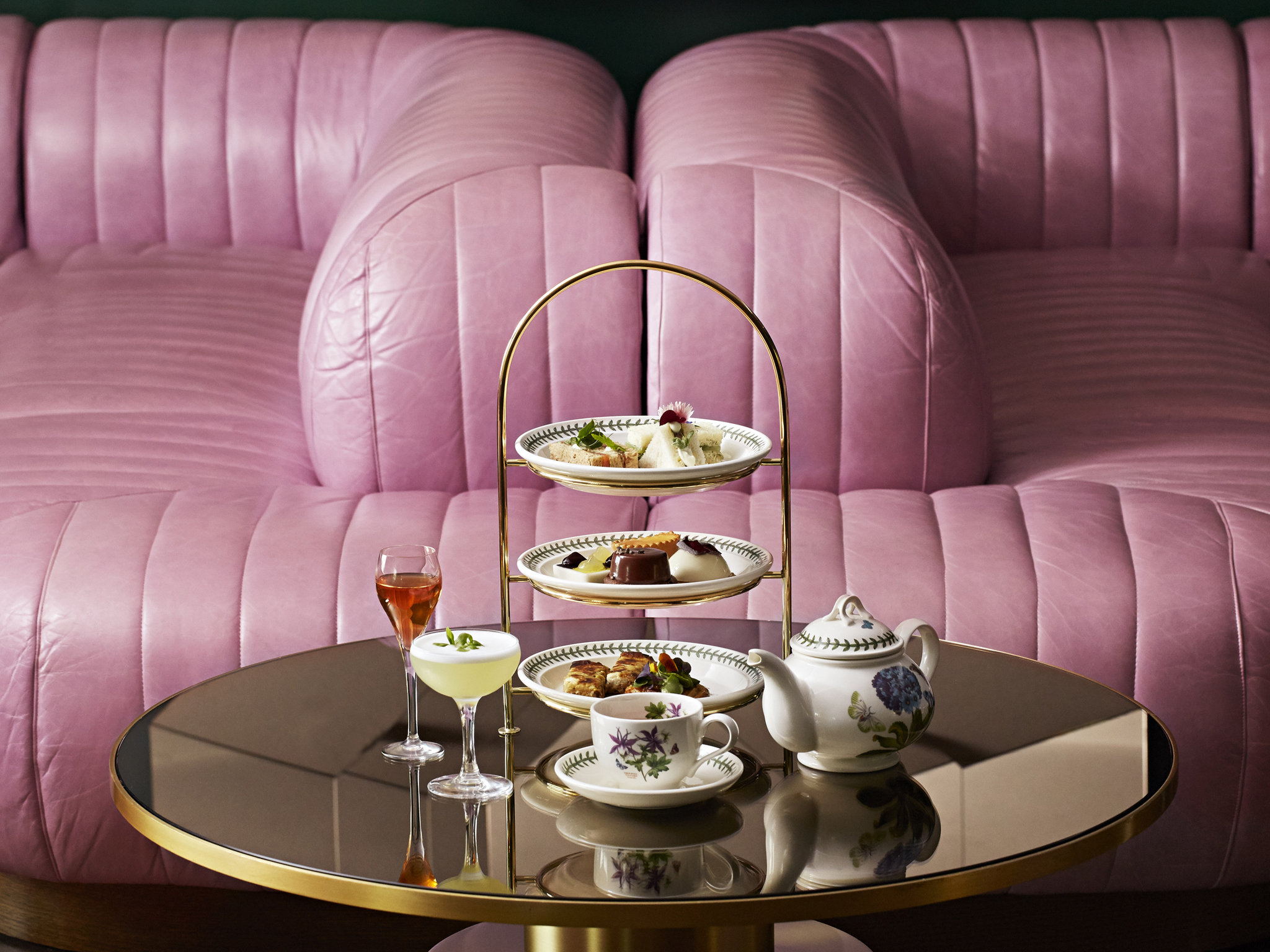best afternoon tea in london, wyld tea at dandelyan