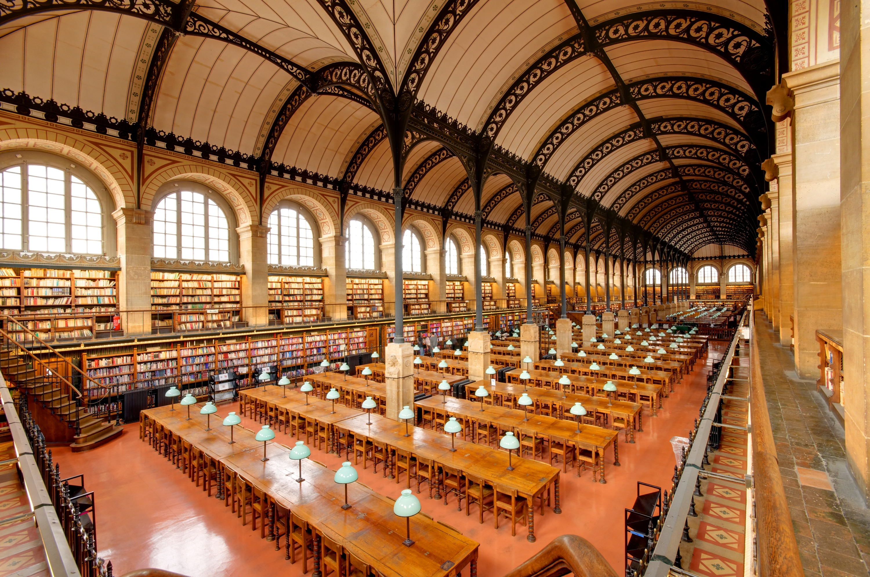 Sainte-Geneviève plus belles bibliothèques Paris