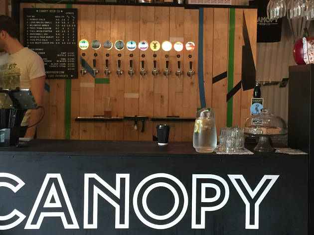 Canopy Beer Tap Room