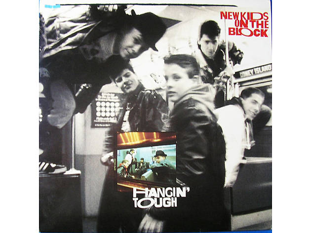 """""""You Got It (The Right Stuff)"""" by New Kids on the Block album cover"""