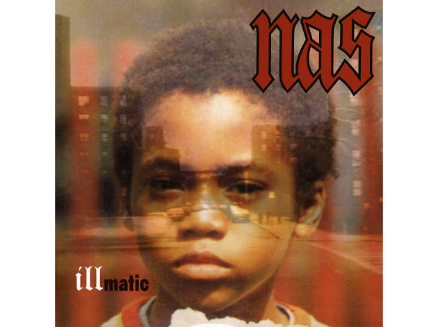 """""""The World Is Yours"""" by Nas album cover"""