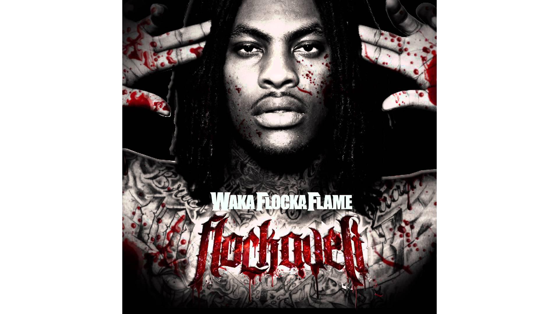 """""""Hard in da Paint"""" by Waka Flocka Flame album cover"""