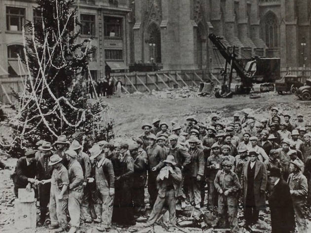 Rockefeller Center Christmas Tree 1931