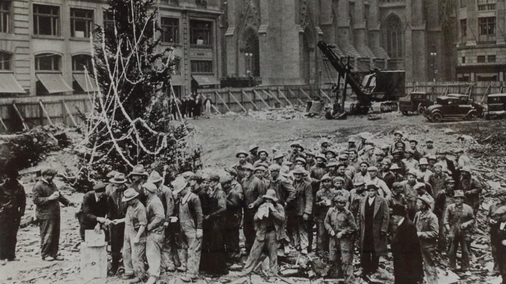 Rockefeller Center Christmas Tree 1931