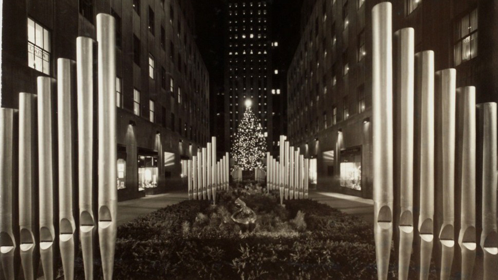 Rockefeller Center Christmas Tree 1940