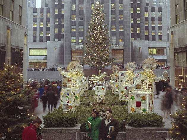 See photos of the Rockefeller Center Christmas Tree through the years