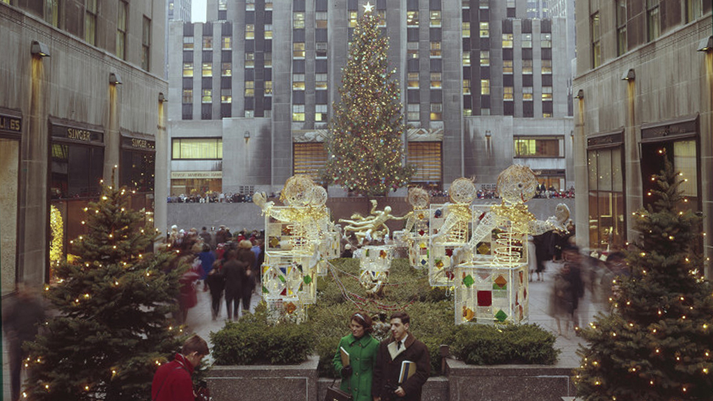 Rockefeller Center Christmas Tree 1964