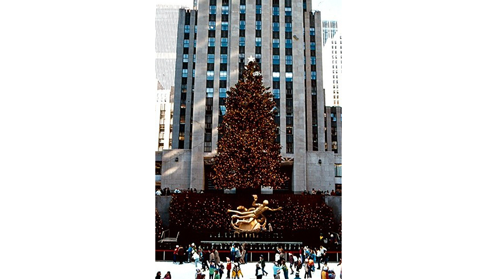 Rockefeller Center Christmas Tree 1981