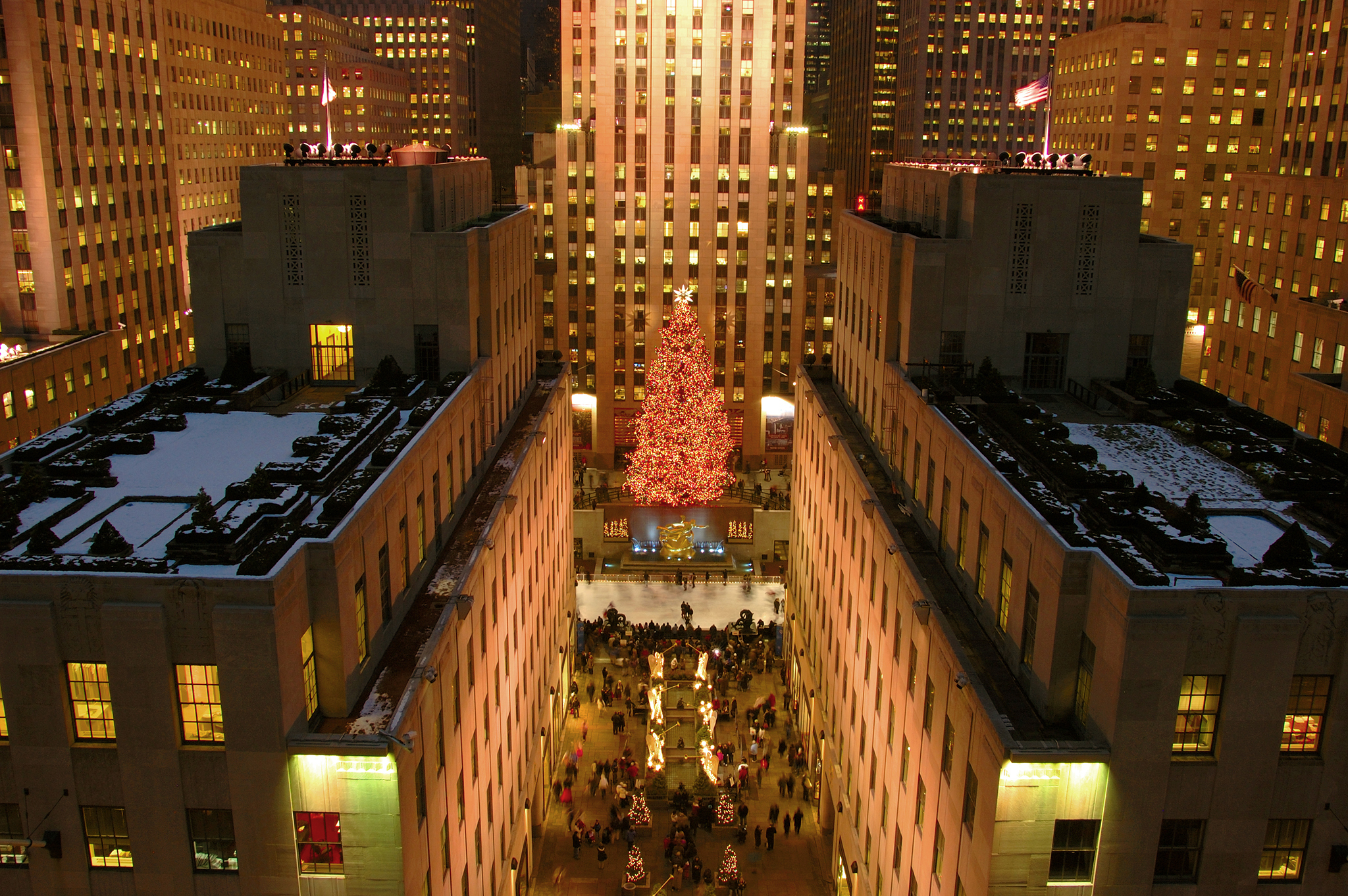 Rockefeller Center Christmas Tree 2005