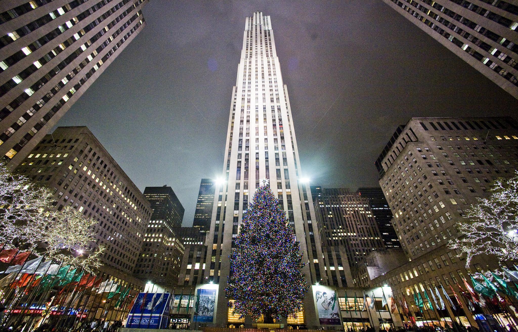Photos of the Rockefeller Center Christmas Tree through ...