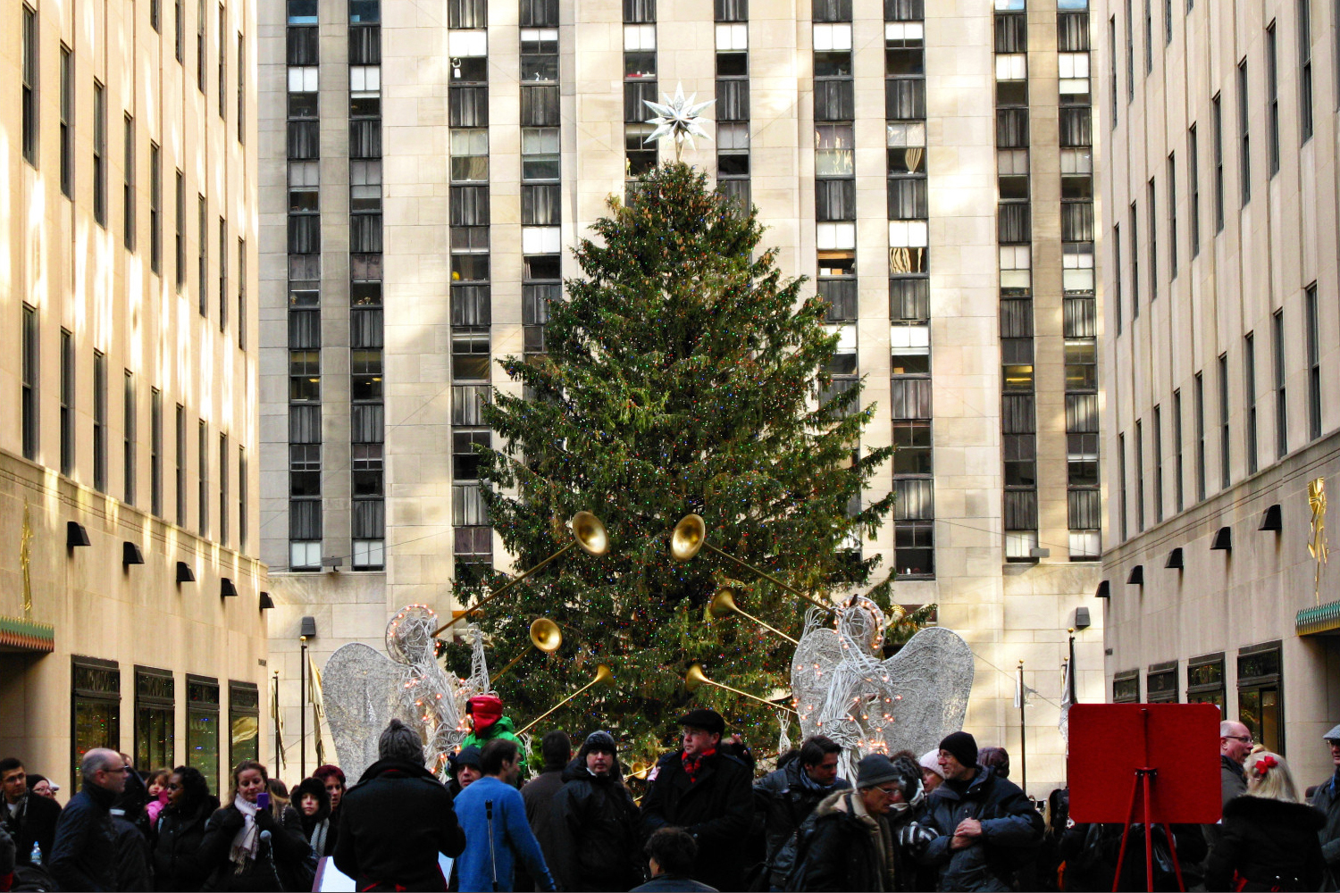 Rockefeller Center Christmas Tree 2011
