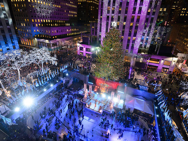 Photos of the Rockefeller Center Christmas Tree through ...