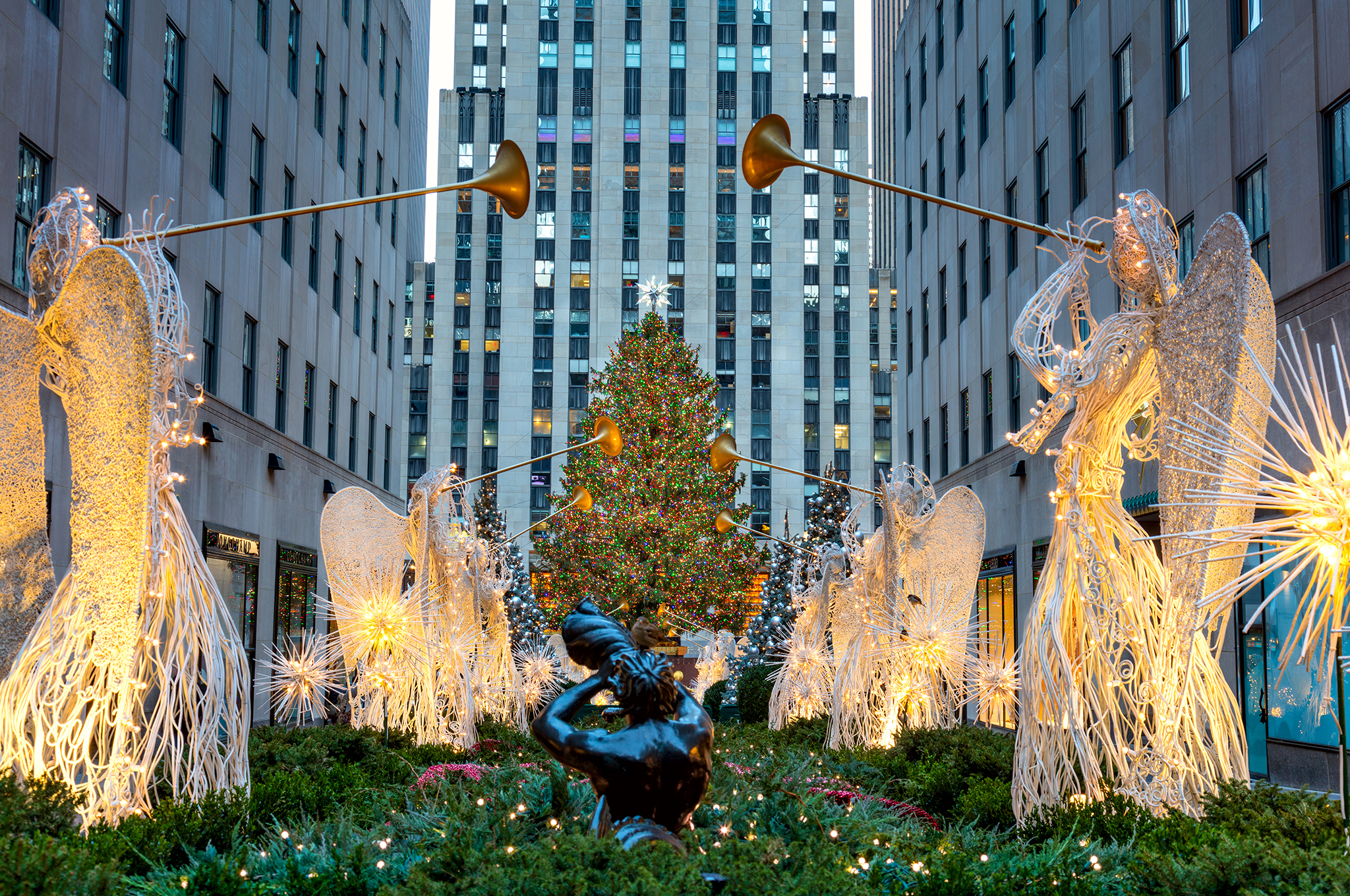 The Rockefeller Center Christmas Tree Arrives This Weekend